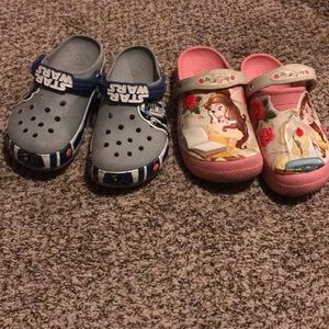 2 Pairs of Disneyland Crocs